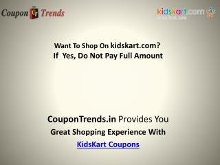KidsKart Coupons