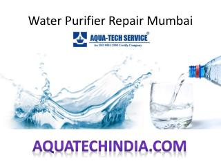 Water Purifier Repair Mumbai