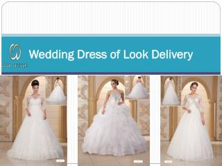 Wedding Dress of Look Delivery