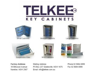 Affordable Lockable Telkee Key Cabinets