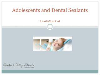 Adolescents and dental sealants
