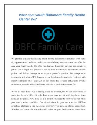 maryland family care