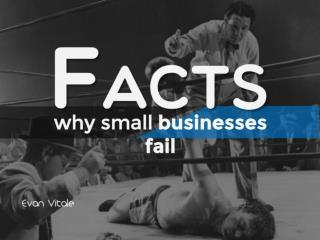 FACTS-Why Small Businesses Fail,