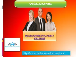 Get Melbourne Property Valuers for property valuer