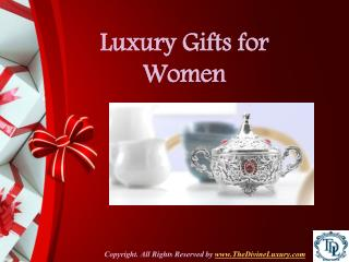 Luxury Gold Plated Gifts