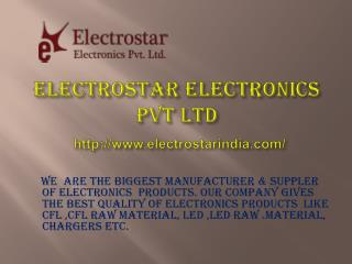 Electrostar Electronics Manufacturers and suppliers of Electronics Product