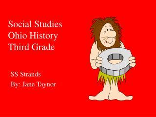 Social Studies Ohio History Third Grade