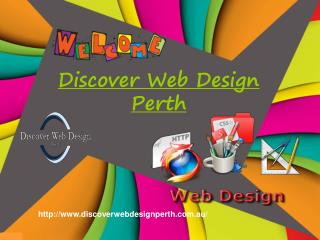 Discover Web Design Perth Serves Multiple Web Design services