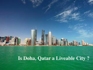 Qatar-A livable city