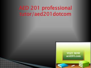 AED 201 Successful Learning/aed201.com