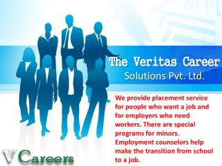 The Veritas Career Solutions Pvt Ltd