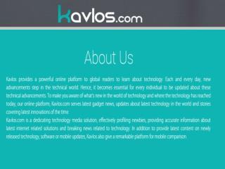 Latest Technology News Updates - Latest Gadgets News
