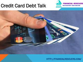 Credit Card Debt Talk