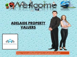 Completed Adelaide Property Valuers for land valuations