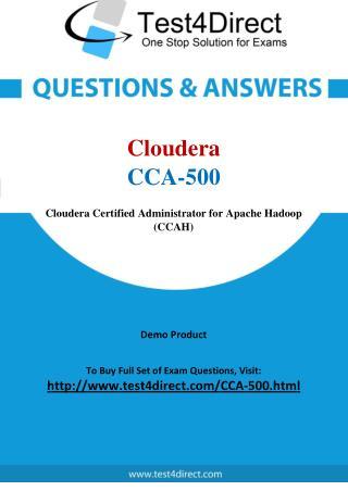 Cloudera CCA-500 Exam Questions