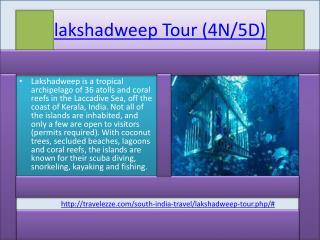lakshadweep Tour (4N/5D)