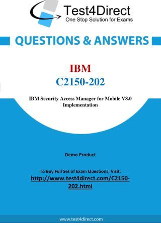 IBM C2150-202 Test Questions