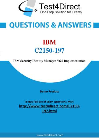 IBM C2150-197 Certified Deployment Professional Exam