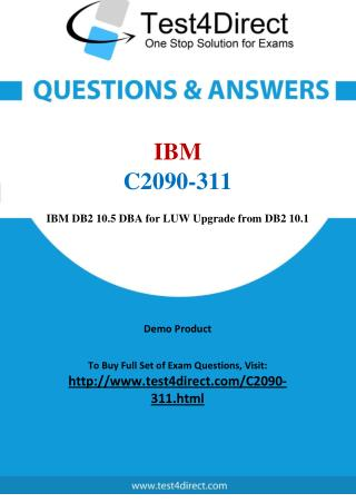 C2090-311 IBM Exam - Updated Questions
