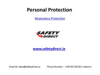 Universal Respiratory Protections in Ireland are at SafetyDirect.ie
