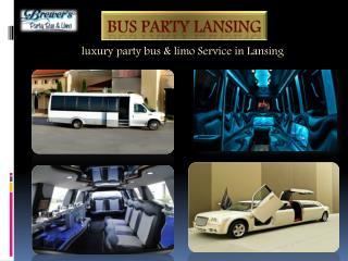 Bus Party Lansing