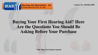 Buying Your First Hearing Aid? Here Are the Questions You Should Be Asking Before Your Purchase