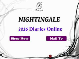 Exclusive Product Ranges at Nightingale For 2016 Diary