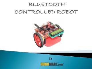Bluetooth Controlled Robot-Robomart