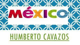 Entrevista con el abogado del gobierno Humberto Cavazos