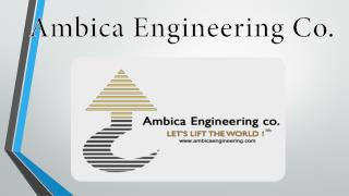 Ambica Engineering Co. - A Leading EOT Crane Company in India