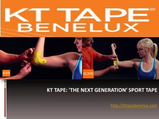 Medical Taping En KT Taping: Wat Is Het Verschil? KT Tape Benelux