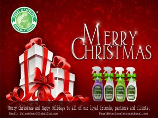 Merry Christmas from Pearl Waterless Products