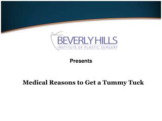 Medical Reasons to Get a Tummy Tuck