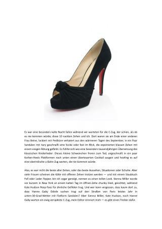 Schuhe Trends-Fashion Für Winter