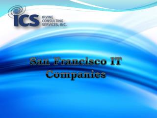 Leading San Francisco IT Services Company