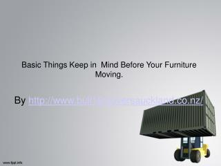 Tips For Your Furniture Moving in Auckland
