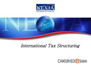 International Tax Structuring