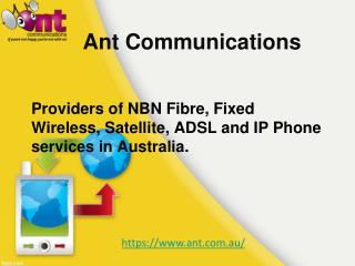 Top Internet Service Providers Sydney | Ant Communications