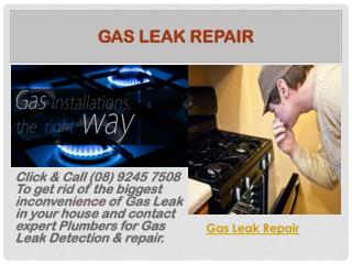 Gas Leak Repair