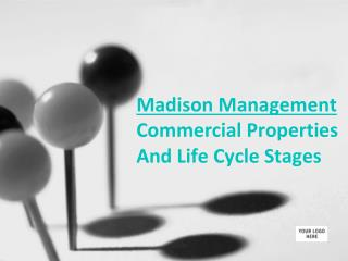 Madison Management Commercial Properties And Life Cycle Stages