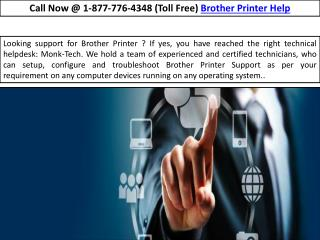 Brother Customer Service- Printers| Drivers| Help  |||| //<*1-877-776-4348*>//