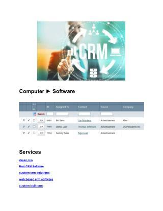 online CRM software