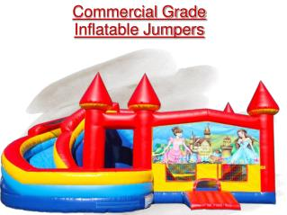 PPT- Inflatable Jumpers for sale