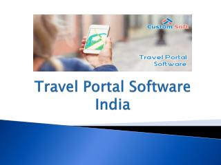 Travel Portal System India