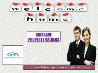 Nice property valuation with Brisbane Property Valuers