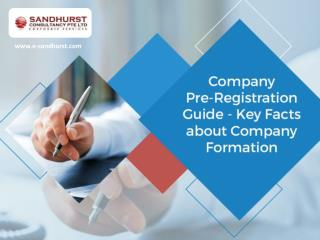 Singapore Company Registration - Few Key Facts