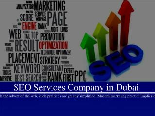 SEO Services Company in Dubai