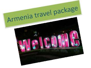 Armenia travel package