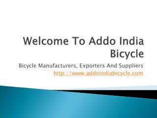 Bicycle Manufacturer Punjab