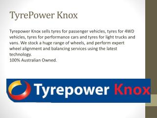Tyre Balancing, Wheel Alignment Services Scoresby, Knox, Boronia